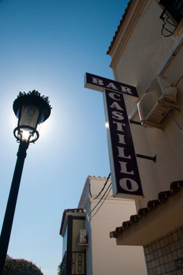 Bar Castillo, Manilva Spanien