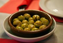 Oliver på Aguilar Restaurant, Estepona Spanien