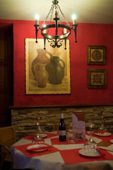 Interiör Aguilar Restaurant, Estepona