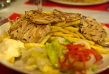 Solomillo de cerdo på Aguilar Restaurant, Estepona
