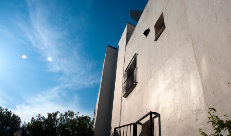 Blå himmel över Monte Viñas, Manilva