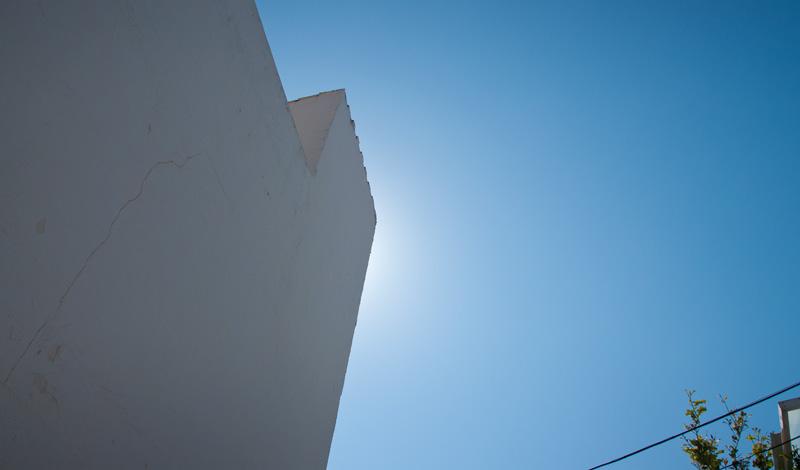 Solen på väg upp i Monte Viñas, Manilva