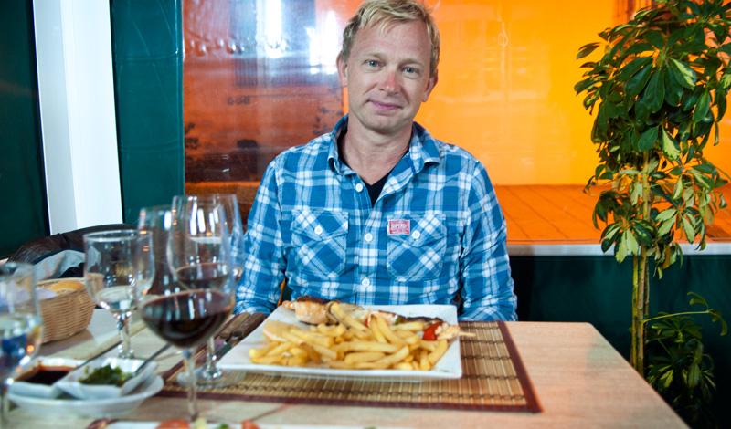 Lasse på Bar Restaurante La  Casita, Sabinillas