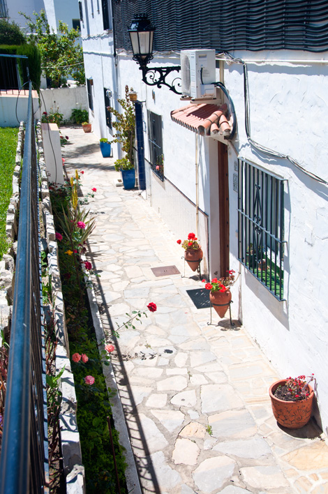 Hus utmed poolen Monte Vinas, Manilva