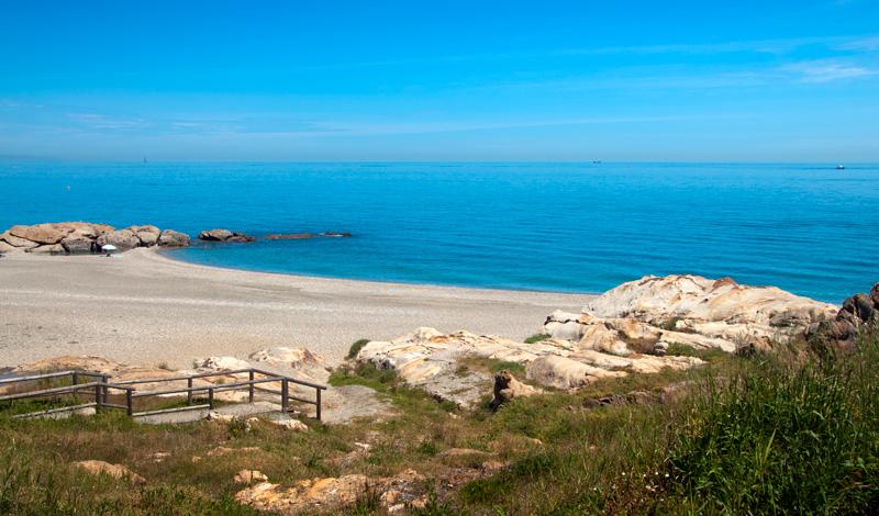 Stranden vid Punta Chullera
