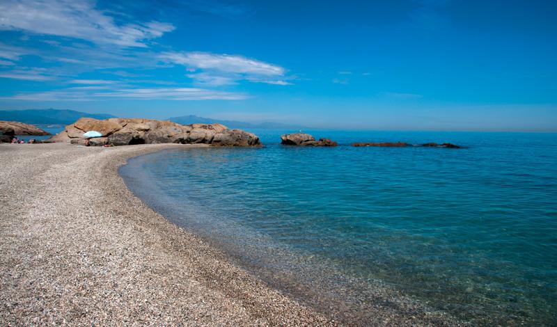 Den fina Punta Chullera stranden