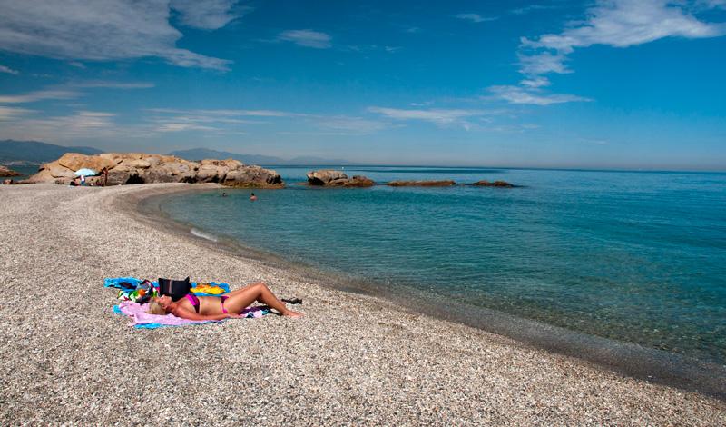 Få besökare på Punta Chullera
