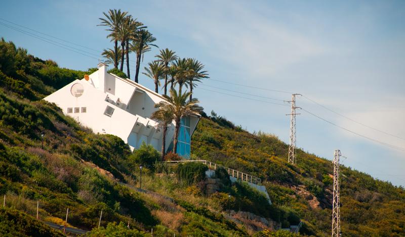 Hus ovanför Punta Chullera