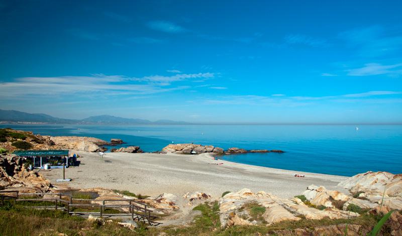 Sen eftermiddag vid Punta Chullera, Spanien