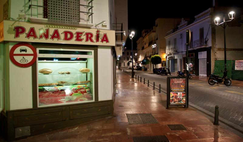 Panaderia i Estepona centrum