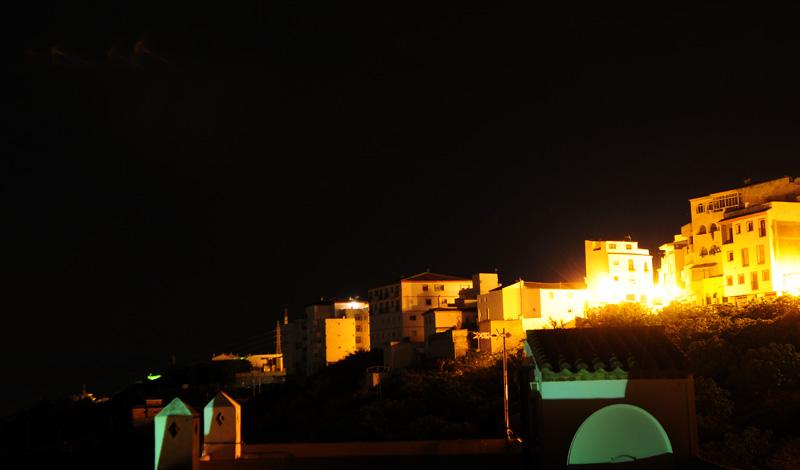 Natt i Manilva Spanien