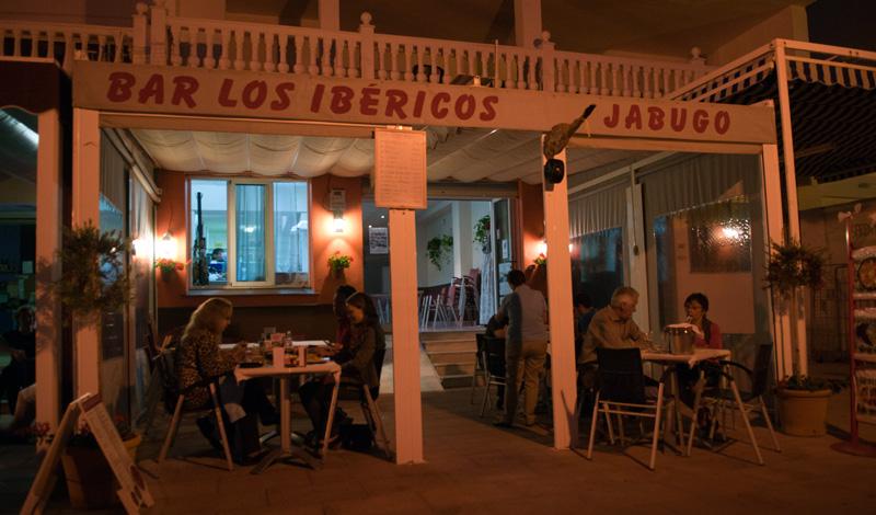 Bar Los Ibericos restaurang Sabinillas