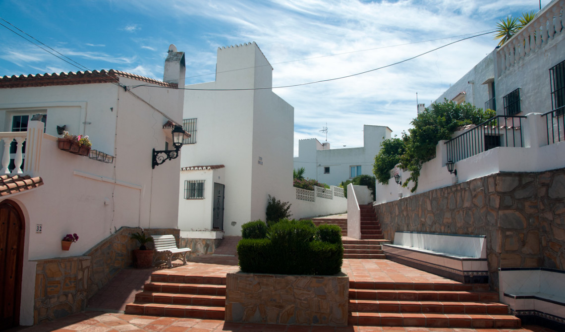 Bland husen i Monte Viñas