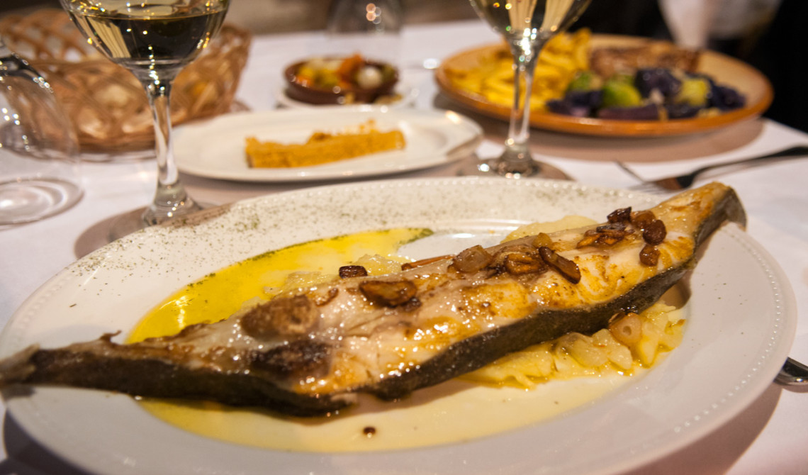 Middag på Restaurante El Pescador i Estepona