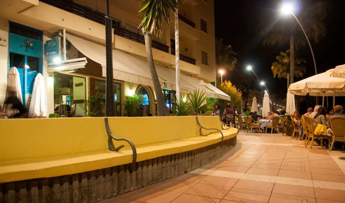 Kvällens restaurantbesök blev på Restaurante El Pescador i Estepona