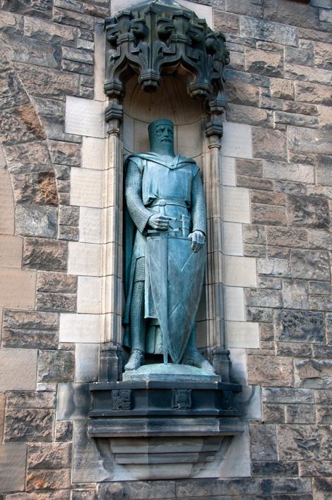 Riddare på Edinburgh Castle