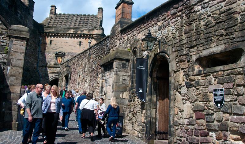 Inne på Edinburgh Castle