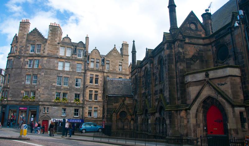 Johnston Terrace, Edinburgh