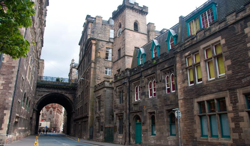Cowgate, Edinburgh Skottland