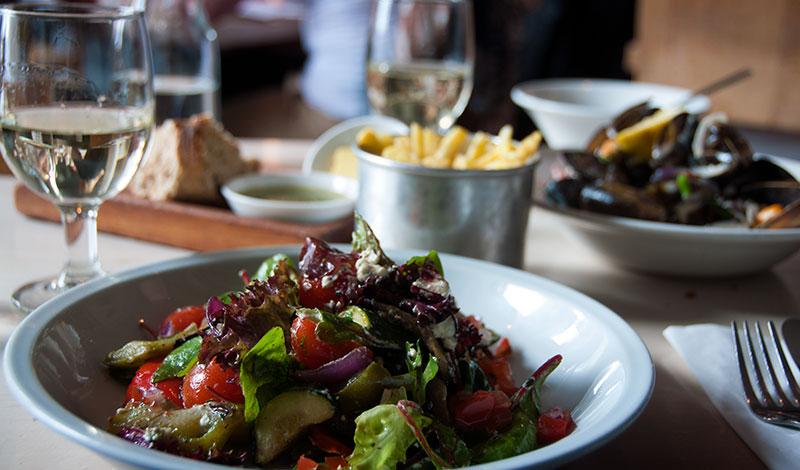 Lunch på The Outsider i Edinburgh