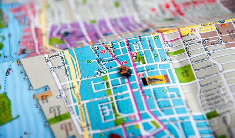 Toronto karta