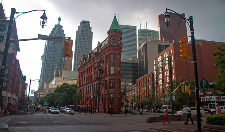 Gooderham Building, Flatiron byggnad i Toronto