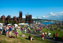 4:e juli firande, Gas Works Park, Seattle