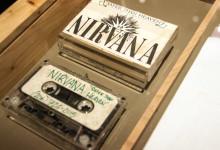 Kassettband tidig demo med Nirvana