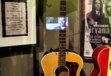 Krist Novoselic akustiska bas från Nirvana Unplugged