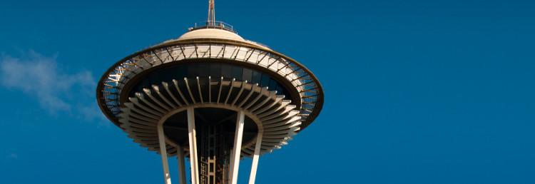 Header Space Needle, Seattle