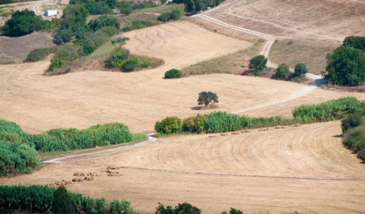 Vackra Manilva landskap, Spanien