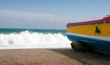 Stranddag i Sabinillas och kväll i Estepona