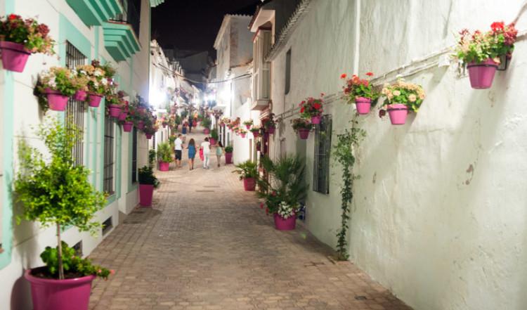Calle Mondéjar, Estepona Spanien