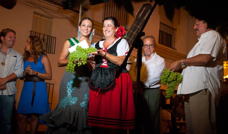 Prisutdelning för bästa vindruvsklasen, Fiesta de la Vendimia, Manilva