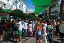 Folkfest på Calle Mar, Fiesta de la Vendimia, Manilva