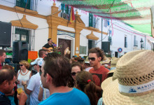 Musik och dans på Calle Mar, Fiesta de la Vendimia, Manilva