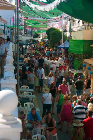 Calle Mar, Fiesta de la Vendimia, Manilva