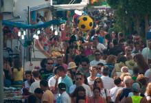 Vimmel under Fiesta de la Vendimia, Manilva