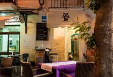 Trevliga Madubar Fusion Restaurang på Plaza Doctor Mena Arce i Estepona