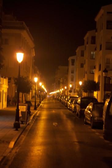 Natt i Sabinillas
