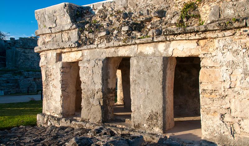 Maya ruin