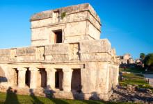 Maya ruin i Tulum
