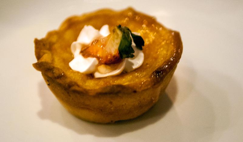 Dessert på Adonis Mexikanska restaurang, Tulum