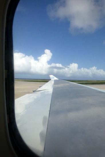 Vi landar på Curacao