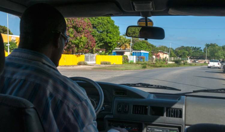 Taxi resa till vårt hotell