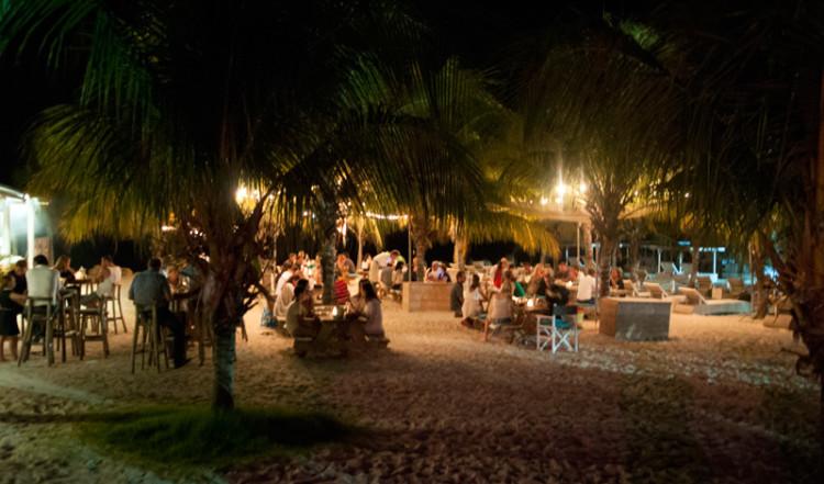 Zest strandservering, Curacao