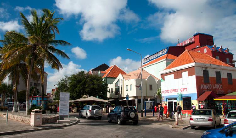 Willemstad i Curacao