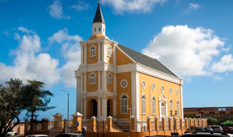 Kyrka i Willemstad, Curacao