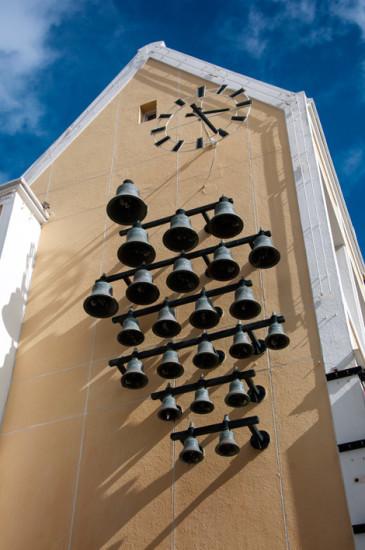 Klocktorn i centrala Willemstad