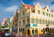 Penha Headquarters, en av de välkända byggnaderna i hjärtat av Willemstad